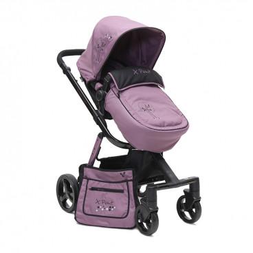 Cangaroo Καρότσι Με Ποδόσακο X-Point Purple 3800146233624