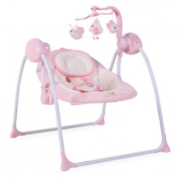 Cangaroo Ρηλάξ Κούνια Baby Swing Plus Pink 3800146247119