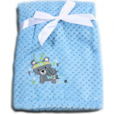 Cangaroo Κουβέρτα Αγκαλιάς Fleece Freya Blue 3800146263980