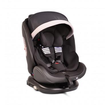 Cangaroo Κάθισμα Αυτοκινήτου Pilot Isofix, 0-36kg Black Leather 3800146239496