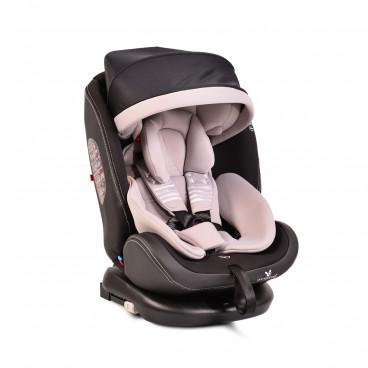 Cangaroo Κάθισμα Αυτοκινήτου Pilot Isofix, 0-36kg Grey Leather 3800146239459