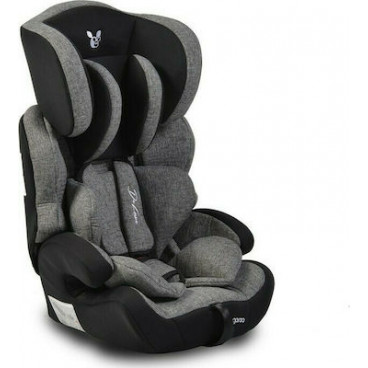 Cangaroo Κάθισμα Αυτοκινήτου Deluxe, 9-36kg Dark Grey 3801005150175