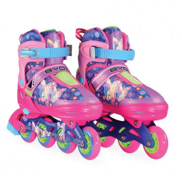 Byox Inline Skates Mask L 38-41 Purple 380014624230