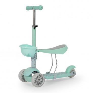 Moni Scooter 3 Σε 1 Bubblegum Green 3800146225988