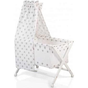 Cangaroo Λίκνο Cassy Baby Beige Stars 3800146247669