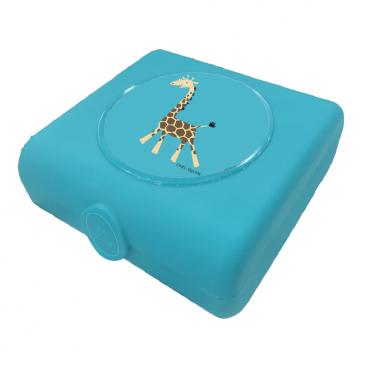Carl Oscar Δοχείο Φαγητού Sandwich Box Turquoise Giraffe 107403