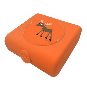 Carl Oscar Δοχείο Φαγητού Sandwich Box Orange Moose 107404