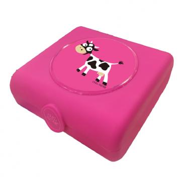 Carl Oscar Δοχείο Φαγητού Sandwich Box Purple Cow 107402
