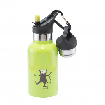 Carl Oscar Παιδικό Θερμός Tempflask Kids 350 ml Lime Monkey 107101