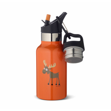 Carl Oscar Παιδικό Θερμός Tempflask Kids 350 ml Orange Moose 107107