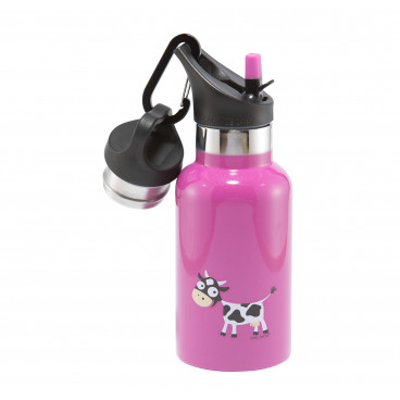 Carl Oscar Παιδικό Θερμός Tempflask Kids 350 ml Purple Cow 107102