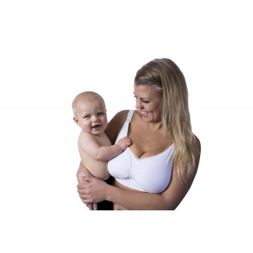 Carriwell Σουτιέν Θηλασμού Με Ενίσχυση Padded Και Gel Wired White Medium 3402