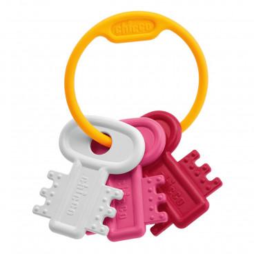Chicco Χρωματιστά Κλειδιά Pink 63216-10