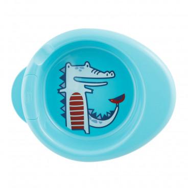 Chicco Πιάτο Θερμός 6m+ Blue 16000-20