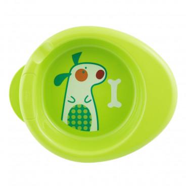 Chicco Πιάτο Θερμός 6m+ Green 16000-30