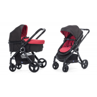 9d30f00000 Chicco Πολυκαρότσι 2-1 Urban Plus Red Passion 79418-95 79168-64
