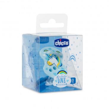 Chicco Κλιπ Πιπίλας Fantastic Love Special Edition Blue 09855-00