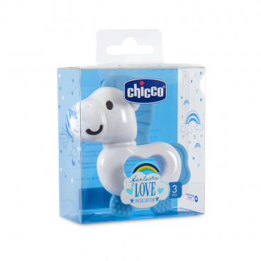 Chicco Κρίκος Οδοντοφυΐας Fantastic Love Special Edition Blue 09857-00