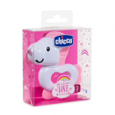 Chicco Κρίκος Οδοντοφυΐας Fantastic Love Special Edition Pink 09857-00
