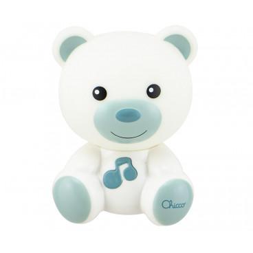 Chicco Φωτάκι Νυκτός Αρκουδάκι Με Μελωδία Blue 09830-20