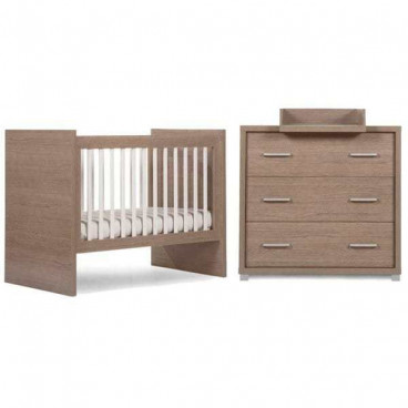 Childwood Κρεβάτι Μετατρεπόμενο Εφηβικό Και Σιφονιέρα Generation Oak BR8327900/BR8328000