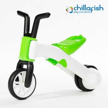 Chillafish Ποδήλατο Εκμάθησης Ισορροπίας Bunzi 2 Σε 1 Green CPBN01LIM