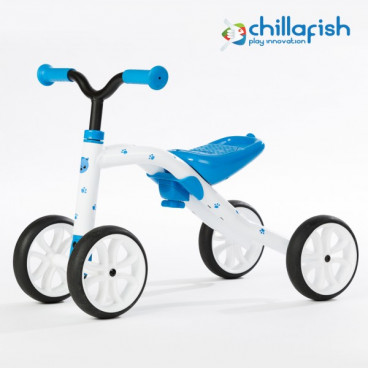 Chillafish Ποδήλατο Εκμάθησης Ισορροπίας Quadie Blue CPQD01BLU