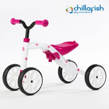 Chillafish Ποδήλατο Εκμάθησης Ισορροπίας Quadie Pink CPQD01PIN