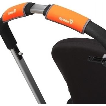 Choopie City Grips Για Καρότσι Με Μπάρα Small Orange Neon 334