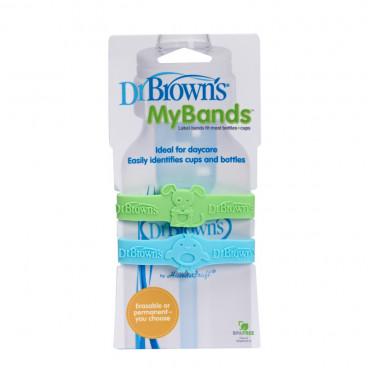 Dr Brown's My Bands Πράσινο-Μπλε AC022