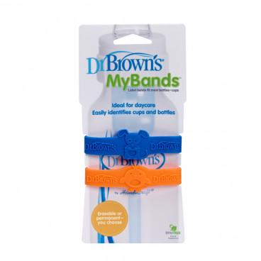 Dr Brown's My Bands Πορτοκαλί-Μπλε AC022