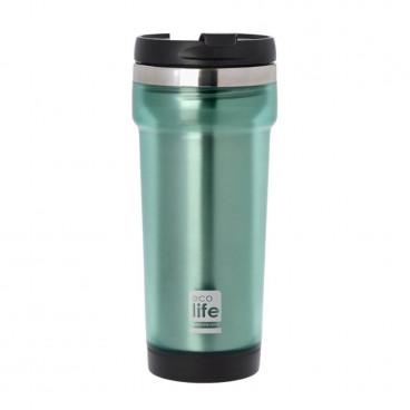 Ecolife Coffee Cup 420ml Green 33-BO-4007