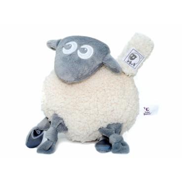 Ewan Snuggly Κουκλάκι Πανάκι Παρηγοριάς Sheep Grey 01064