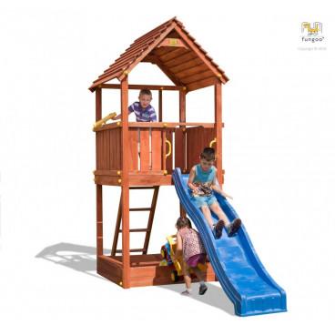 Fungoo Ξύλινη Παιδική Χαρά Joy Με Τσουλήθρα 00555