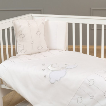 Funna Baby Σεντόνια Luna Chic Σετ 3 Τμχ. 0514
