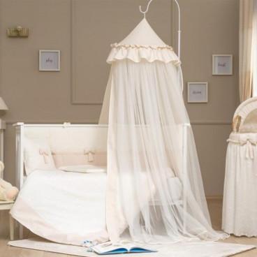 Funna Baby Κουνουπιέρα Θόλος Romantica Premium Cream 5434