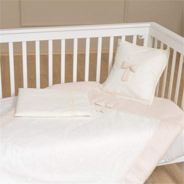 Funna Baby Σεντόνια Premium Cream Σετ 3 Τμχ. 5414