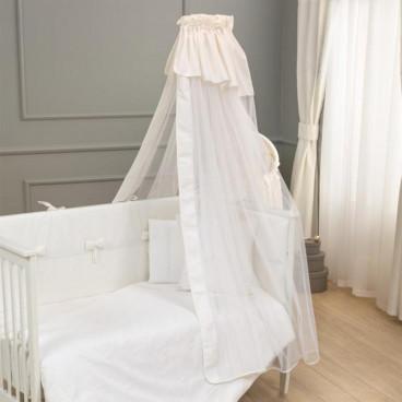 Funna Baby Κουνουπιέρα Paris Premium White 5333