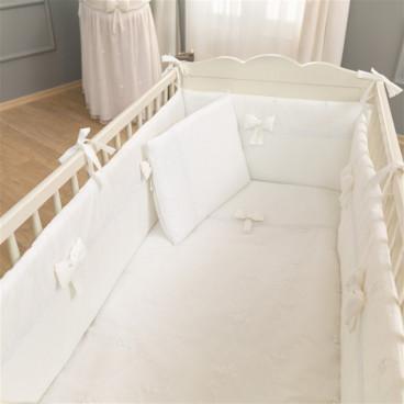 Funna Baby Σεντόνια Premium White Σετ 3 Τμχ. 5314