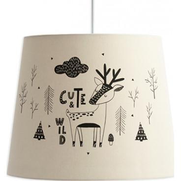 Funna Baby Φωτιστικό Οροφής Cute Wild Beige 9860
