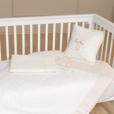 Funna Baby Σεντόνια Premium Cream Σετ 3 Τμχ. 5403