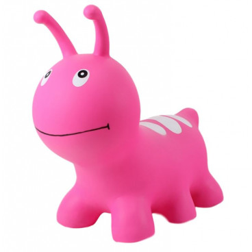 Gerardo's Toys Φουσκωτό Ζωάκι Jumpy Wormy Pink GΤ69335