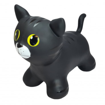 Gerardo's Toys Φουσκωτό Ζωάκι Jumpy Cat Black GΤ69420