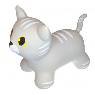 Gerardo's Toys Φουσκωτό Ζωάκι Jumpy Cat Grey GΤ69423