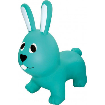 Gerardo's Toys Φουσκωτό Ζωάκι Jumpy Λαγουδάκι Γαλαζοπράσινο GT69331