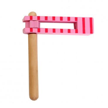 Gerardo's Toys Ξύλινη Ροκάνα Ροζ GΤ61128