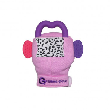 Gummee Glove Γάντι Οδοντοφυΐας 3m+ Pink 01060
