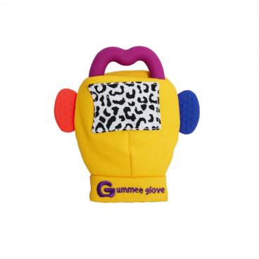Gummee Glove Γάντι Οδοντοφυΐας 3m+ Yellow 01060