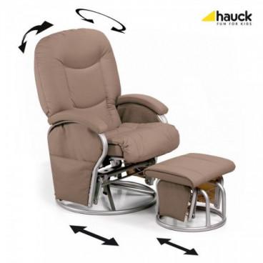 Hauck Περιστρεφόμενη Καρέκλα Θηλασμού Creme J-H.687017