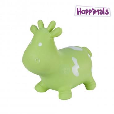 Hoppimals Φουσκωτό Ζωάκι Αγελάδα Πράσινη TFF-NN133